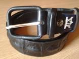 Ремень кожаный JK,117 см photo 1