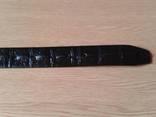Ремень кожаный JK,117 см photo 3
