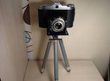 Фотоаппарат Agfa Isolette со штативом