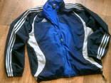 Adidas - фирменная куртка спортивка разм.52