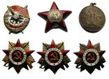 Комплект наград полковника Суворова Петра Павловича