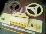 Бобинный магнитофон айдас 9м.ламповый СССР.прибалт, фото 3