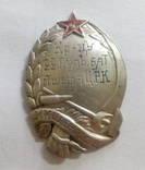 Серебряный знак красноармейца