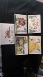 Лот чистых открыток ссср 50- х годов 117 штук.