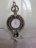 LINEA ARGENTI часы каминные