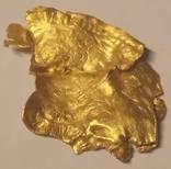 Золотая бляшка 0,9гр