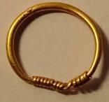 Височное кольцо - золото 0,64гр