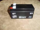 Аккумулятор для металлоискателя 12V 1.3А/ч