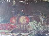 Подсвечник с фруктами photo 1