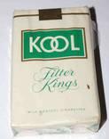 """Полная запечатанная пачка сигарет """"KOOL MENTHOL"""" Made in USA 1960-е годы."""