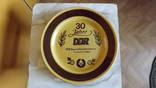 Фарфоровая тарелка - 30 лет DDR