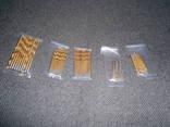 Сверла 50 штук 1 мм , 1.5 мм , 2 мм , 2.5 мм ,3 мм