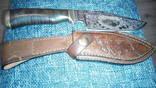 Нож индивидуальный ручной работы