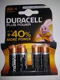 Батарейки Duracell LR6 АА 4 штуки photo 1