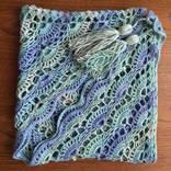 Бактус вязаный (мини-шаль, шейный платок) photo 5