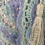 Бактус вязаный (мини-шаль, шейный платок) photo 6