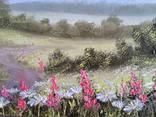 Картина Тропинка в лето, 30х40 см., живопись на холсте, маслом, оригинал, с подписью photo 2
