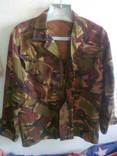 Лёгкая камуфляжная куртка, разм. 88/160, новая,с молнией и пуговицам