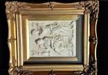 Рельефная картина. Красивая рама. Рельеф. Европа photo 7