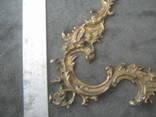 Накладка  рококо,позолота., фото №6