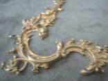 Накладка  рококо,позолота., фото №7