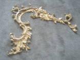 Накладка  рококо,позолота., фото №8
