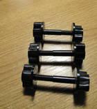 Крепежный винт катушки к штанге 6 мм с гайкой 3 ШТ.(Minelab, X-terra 705 и др)