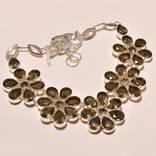 Ожерелье из раухтопазов, фото №2
