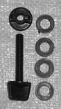 Болт для М.Д. 8мм + 4 Уплотнительные резинки