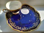 Чайная пара Echt Weimar-Kobalt 1