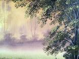 Картина Золотистый туман, 50х40 см. холст, масло, оригинал, с подписью автора photo 3