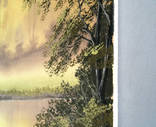 Картина Золотистый туман, 50х40 см. холст, масло, оригинал, с подписью автора photo 4