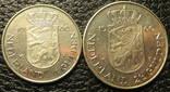 Комплект монет коронування Беатрікс Нідерландів 1980, фото №2