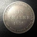 Талер 1836 г. photo 1
