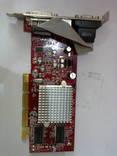 Відеокарта для комп'ютера AGP ATI Radeon 9250 БЕЗ РЕЗЕРВУ