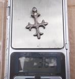 Серебряный крестик КР 3.6 гр photo 4