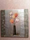 Картина Тюльпаны 1м*1м photo 1