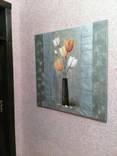 Картина Тюльпаны 1м*1м photo 2