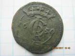 Шеляг Коронний 1650 рік(Яна Казиміра мон.двор Всхова)