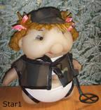Кукла кладоискательница девченка. Авторская, ручная работа., фото №3