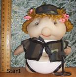 Кукла кладоискательница девченка. Авторская, ручная работа., фото №5