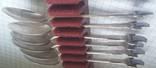 Набор ложечек с эмалями 925 пробы, фото №7