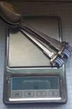 Набор ложечек с эмалями 925 пробы, фото №9