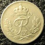 10 оре Данія 1957 photo 1