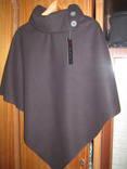 Пальто пончо кашемір р. M, XL