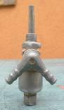 Топливный кран с тяжёлого ретро мото СССР., фото №4