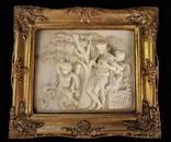 Рельефная картина барок рама Рельеф Европа