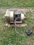 Электродвигатель с вентилятором