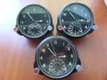 Часы авиационные 60 ЧП, 3 штуки, в рабочем состоянии.