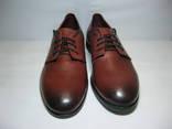 Кожаные туфли мужские Unline, размер 42